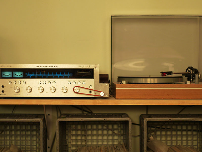 Arduino remote volume control for vintage receiver